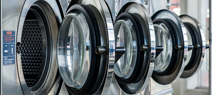 Self Service Laundry Machines